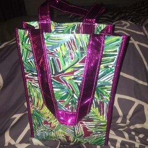 Lilly Pulitzer Metallic Tote